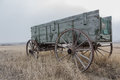 Old Horse Cart Stock Image - 71203251