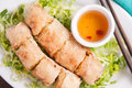 Crispy Vietnamese Sprill Roll Or Egg Roll Royalty Free Stock Images - 71207799