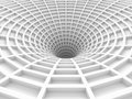 Abstract White Tunnel 3d Background Royalty Free Stock Photo - 71209685