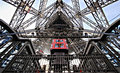 Look Inside Strong Eiffel Tower Stock Photography - 71221822