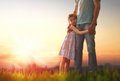 Father And His Daughter Royalty Free Stock Photos - 71278858