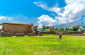 Residential Area In The Temple Of Wiracocha  Or Temple Of Raqchi Stock Photography - 71284962