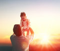 Father And His Baby Royalty Free Stock Photography - 71286037