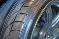 Fragment Tread Racing Tires Stock Photography - 71301072