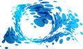 Abstract Element Design, Aqua Background, Water Splash Royalty Free Stock Photography - 71332597