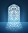Doors Of Mosque With Arabic Pattern Stock Photo - 71345620