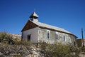 Church In The Ghost Town Of Terlingua Texas Usa Royalty Free Stock Photography - 71376607