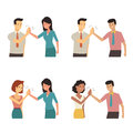 Clapping Hands Each Other Stock Photo - 71387740
