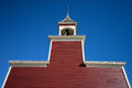 Southern Wooden Church Tower In Texas Stock Image - 71389361