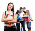 Graceful Female Student Royalty Free Stock Photos - 7146088