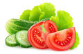 Isolated Fresh Vegetables Stock Images - 71405874