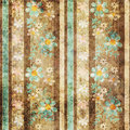 Grunge Old Flowers Floral Pattern Background Royalty Free Stock Image - 71470386