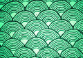 Green Curves Royalty Free Stock Image - 7153376