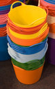 Stacked Buckets Stock Image - 7154411