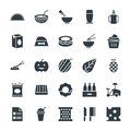 Food Cool Vector Icons 12 Stock Photography - 71531912