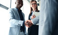 Business People Shaking Hands Stock Photo - 71547990