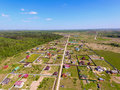 Village View From Above Stock Images - 71561324