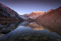 Convict Lake Sunrise Stock Image - 71574131
