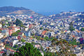 San Francisco, Skyline, Viewpoint, Buena Vista, Hill, Hilltop, California, United States Of America, Usa Stock Images - 71577634
