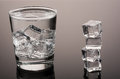 Cold Water With Ice Stock Photos - 71580343
