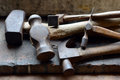 Old Hammers Royalty Free Stock Photography - 71592557