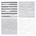 Brush Stripes Vector Seamless Pattern. Set Of Thin And Thick Lines. Stock Photography - 71602052