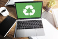 Recycle Green Environment Conservation Eco Concept Royalty Free Stock Photography - 71604977