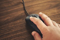 Clicking Mouse Stock Image - 71617621