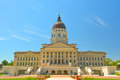 Kansas State Capitol Building On A Sunny Day Royalty Free Stock Image - 71650896