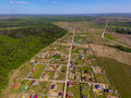 Village View From Above Royalty Free Stock Photography - 71654327
