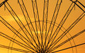 Abstract Background,  Ferris Metal-wheel Against Sky With Sunset. Stock Photos - 71679863