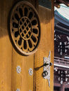 Japanese Door Detail Royalty Free Stock Photography - 71686437