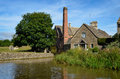 The Old Mill Watermill In Lower Slaughter Stock Images - 71689524