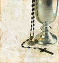 Communion Chalice And Rosary Royalty Free Stock Photo - 7170585