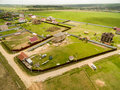 Village View From Above Stock Image - 71706921