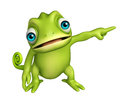 Cute Chameleon Funny Cartoon Character Stock Images - 71759304