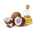 Coconut And Oil Stock Images - 71761804