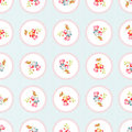 Seamless Pattern With Little Flowers Stock Photos - 71762353