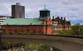 Detroit Skyline During Day Vintage And New Buildings Royalty Free Stock Photography - 71773587