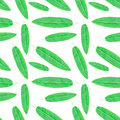 Topical Leaf. Seamless Watercolor Pattern Stock Photo - 71773810