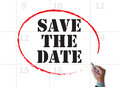 SAVE THE DATE Royalty Free Stock Photo - 71784475