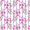 Floral Seamless Pattern, Cute Cartoon Flowers  White Background Royalty Free Stock Photography - 71793367