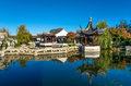 The Dunedin Chinese Garden In New Zealand. Royalty Free Stock Images - 71835829