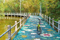 Bike Lane Beside The Canal At Bang Kachao Park Stock Photography - 71841132