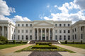 He State Department Of Archive And History Building In A Blue Sky Day In Montgomery, Alabama, USA Royalty Free Stock Photo - 71850515