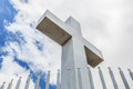 Historic Mt. Helix Cross As Seen From Below Stock Photos - 71861223