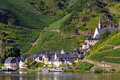 Village Beilstein At Mosel River Royalty Free Stock Images - 71861429
