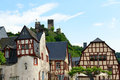 Village Beilstein At Mosel River Royalty Free Stock Image - 71862656