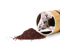 Granulated Tea And An Open Box Royalty Free Stock Image - 71889256