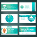 Set Of Templates For Business Cards. Elements For Design. Eps10 Stock Images - 71946984